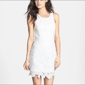 ASTR the label Crochet Sleeveless Sheath Dress M